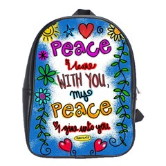 Christian Christianity Religion School Bag (large)