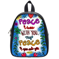 Christian Christianity Religion School Bag (small) by Celenk