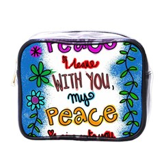 Christian Christianity Religion Mini Toiletries Bags by Celenk