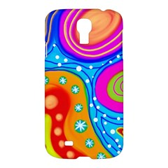Abstract Pattern Painting Shapes Samsung Galaxy S4 I9500/i9505 Hardshell Case by Celenk