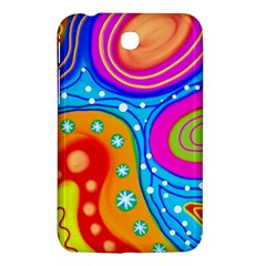 Abstract Pattern Painting Shapes Samsung Galaxy Tab 3 (7 ) P3200 Hardshell Case