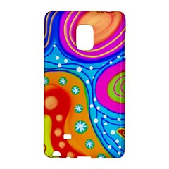 Abstract Pattern Painting Shapes Galaxy Note Edge by Celenk