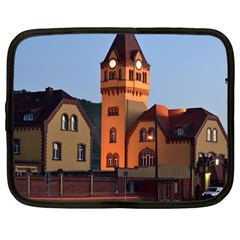 Blue Hour Colliery House Netbook Case (large)