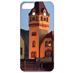 Blue Hour Colliery House Apple Iphone 5 Classic Hardshell Case by Celenk