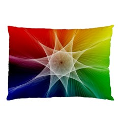 Abstract Star Pattern Structure Pillow Case (two Sides) by Celenk