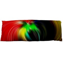 Circle Lines Wave Star Abstract Body Pillow Case Dakimakura (two Sides) by Celenk