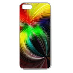 Circle Lines Wave Star Abstract Apple Seamless Iphone 5 Case (clear)