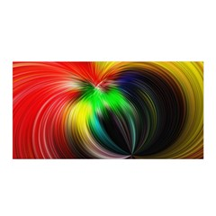 Circle Lines Wave Star Abstract Satin Wrap