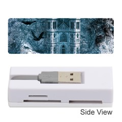 Church Stone Rock Building Memory Card Reader (stick)  by Celenk