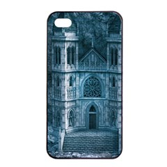 Church Stone Rock Building Apple Iphone 4/4s Seamless Case (black) by Celenk