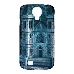 Church Stone Rock Building Samsung Galaxy S4 Classic Hardshell Case (pc+silicone) by Celenk