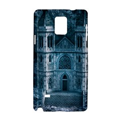 Church Stone Rock Building Samsung Galaxy Note 4 Hardshell Case by Celenk