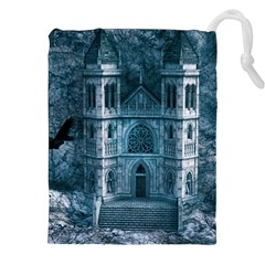 Church Stone Rock Building Drawstring Pouches (xxl) by Celenk