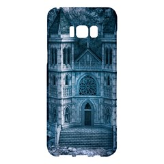 Church Stone Rock Building Samsung Galaxy S8 Plus Hardshell Case  by Celenk