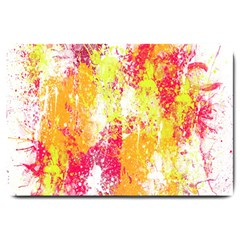 Painting Spray Brush Paint Large Doormat  by Celenk