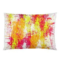 Painting Spray Brush Paint Pillow Case (two Sides) by Celenk