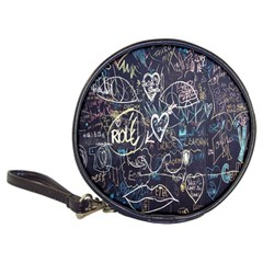 Graffiti Chalkboard Blackboard Love Classic 20 Cd Wallets