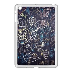 Graffiti Chalkboard Blackboard Love Apple Ipad Mini Case (white)