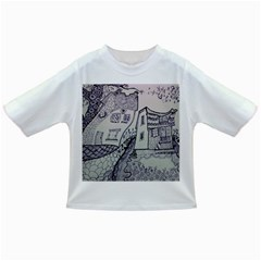 Doodle Drawing Texture Style Infant/toddler T Shirts