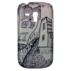 Doodle Drawing Texture Style Galaxy S3 Mini by Celenk