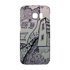 Doodle Drawing Texture Style Galaxy S6 Edge by Celenk