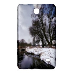 Winter Bach Wintry Snow Water Samsung Galaxy Tab 4 (8 ) Hardshell Case  by Celenk