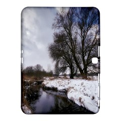 Winter Bach Wintry Snow Water Samsung Galaxy Tab 4 (10 1 ) Hardshell Case  by Celenk