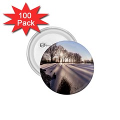Winter Lake Cold Wintry Frozen 1 75  Buttons (100 Pack)  by Celenk
