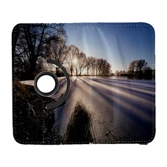 Winter Lake Cold Wintry Frozen Galaxy S3 (flip/folio) by Celenk