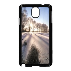 Winter Lake Cold Wintry Frozen Samsung Galaxy Note 3 Neo Hardshell Case (black)