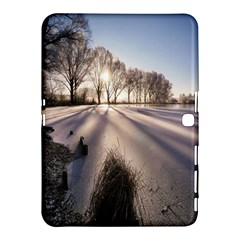 Winter Lake Cold Wintry Frozen Samsung Galaxy Tab 4 (10 1 ) Hardshell Case  by Celenk