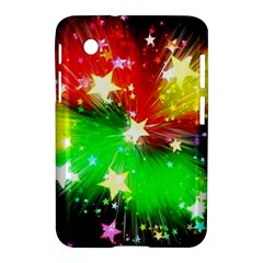Star Abstract Pattern Background Samsung Galaxy Tab 2 (7 ) P3100 Hardshell Case
