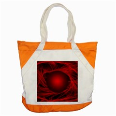 Abstract Scrawl Doodle Mess Accent Tote Bag