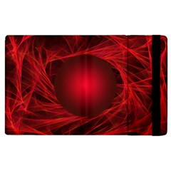 Abstract Scrawl Doodle Mess Apple Ipad 2 Flip Case
