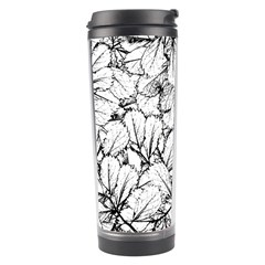 White Leaves Travel Tumbler by SimplyColor