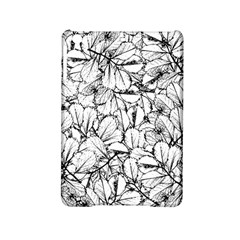 White Leaves Ipad Mini 2 Hardshell Cases by SimplyColor