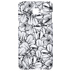 White Leaves Samsung C9 Pro Hardshell Case  by SimplyColor