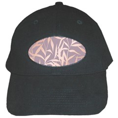 Rose Gold, Asian,leaf,pattern,bamboo Trees, Beauty, Pink,metallic,feminine,elegant,chic,modern,wedding Black Cap