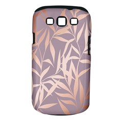 Rose Gold, Asian,leaf,pattern,bamboo Trees, Beauty, Pink,metallic,feminine,elegant,chic,modern,wedding Samsung Galaxy S Iii Classic Hardshell Case (pc+silicone) by 8fugoso