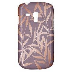 Rose Gold, Asian,leaf,pattern,bamboo Trees, Beauty, Pink,metallic,feminine,elegant,chic,modern,wedding Galaxy S3 Mini by 8fugoso