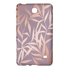 Rose Gold, Asian,leaf,pattern,bamboo Trees, Beauty, Pink,metallic,feminine,elegant,chic,modern,wedding Samsung Galaxy Tab 4 (8 ) Hardshell Case