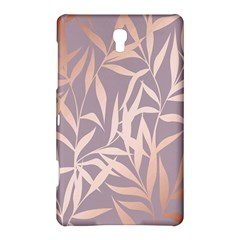 Rose Gold, Asian,leaf,pattern,bamboo Trees, Beauty, Pink,metallic,feminine,elegant,chic,modern,wedding Samsung Galaxy Tab S (8 4 ) Hardshell Case