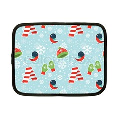 Winter Fun Pattern Netbook Case (small)  by allthingseveryone
