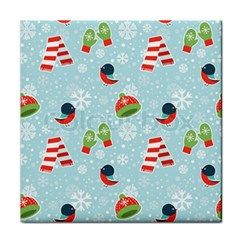 Winter Fun Pattern Face Towel by allthingseveryone