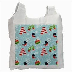 Winter Fun Pattern Recycle Bag (one Side) by allthingseveryone