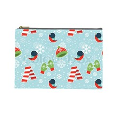 Winter Fun Pattern Cosmetic Bag (large)  by allthingseveryone