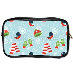 Winter Fun Pattern Toiletries Bags by allthingseveryone