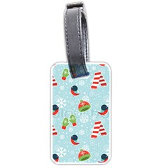 Winter Fun Pattern Luggage Tags (two Sides) by allthingseveryone