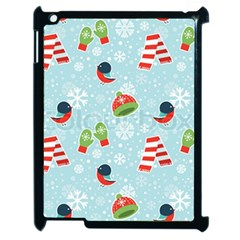 Winter Fun Pattern Apple Ipad 2 Case (black) by allthingseveryone