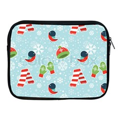 Winter Fun Pattern Apple Ipad 2/3/4 Zipper Cases by allthingseveryone